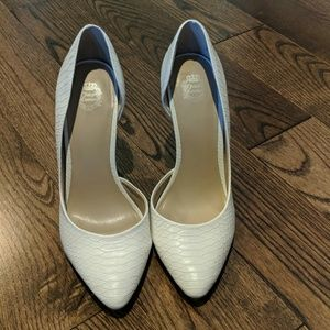 Juicy Couture by Kohls White Heels